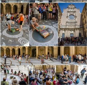 Vídeo i àlbums de l'acte final de La Marxa Som a Montserrat
