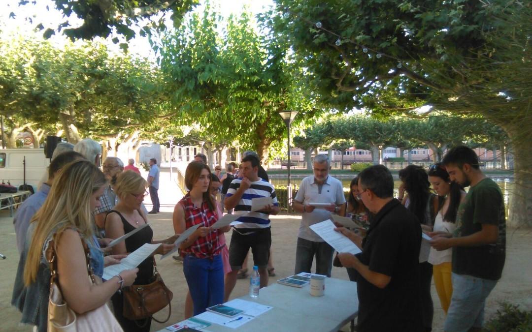 La Columna de Ponent ha passat pel Pla d'Urgell i les Garrigues