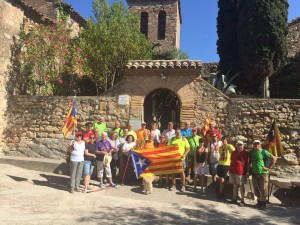 Molins de Rei acull la Columna Metropolitana i Solsona reclama un dret a una participació ciutadana vinculant