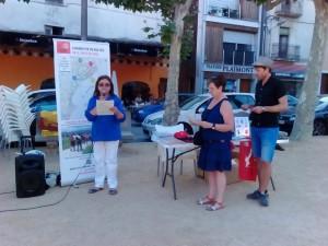 La Marxa Som arriba a la Selva amb actes a Vilobí d'Onyar i a Santa Coloma de Farners