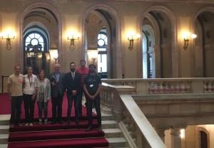Els grups parlamentaris acullen la presentació de la campanya Catalunya Democràcia Plena