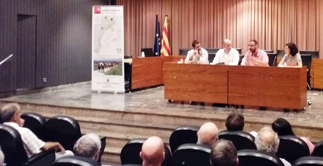 Balaguer ja va rebre La Marxa Som, amb Jordi Sànchez. Dimecres 13, acte central del Segrià a Lleida