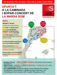 Inici de La Marxa Som aquest dissabte 11 de juny a Berga!