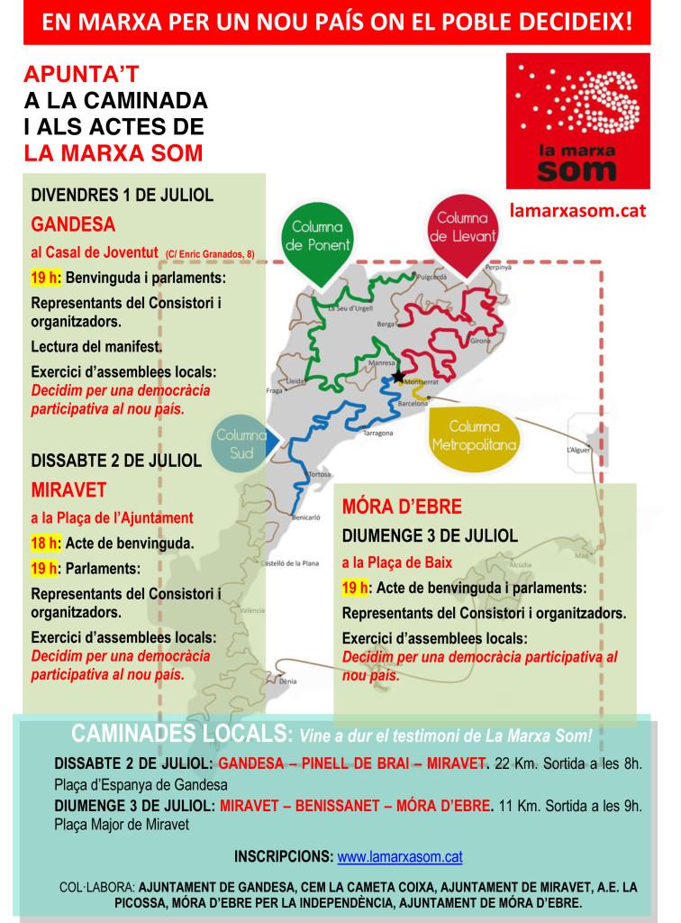 Cartell_Activitats_LaMarxaSom - Terra Alta-Ribera d'Ebre