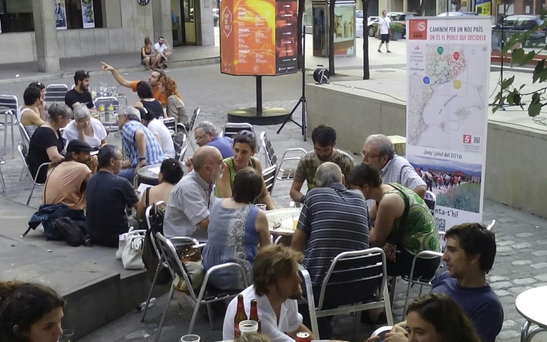 La Columna de Llevant recull les propostes de La Plana de Vic